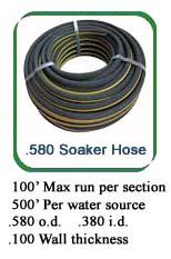 soaker hose bulk soaker hose soaker hose irrigation mr drip. Black Bedroom Furniture Sets. Home Design Ideas